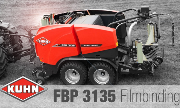 The FBP 3135 baler wrapper combination has been elected as machine of the year.